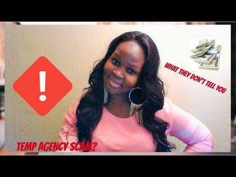 Temp Agency Scam?