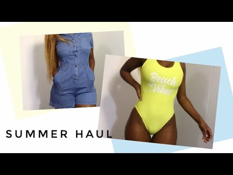 SUMMER TRY-ON HAUL ft. MRP Gift Guide | South African YouTuber