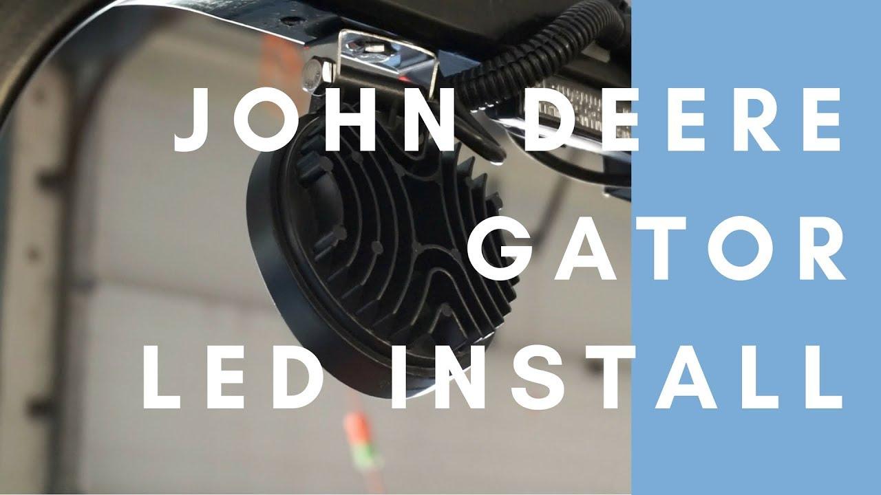 John Deere Gator LED Light Install @ Circuit Dojo