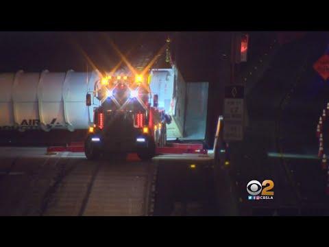 Traffic Backed Up After Tanker Crash