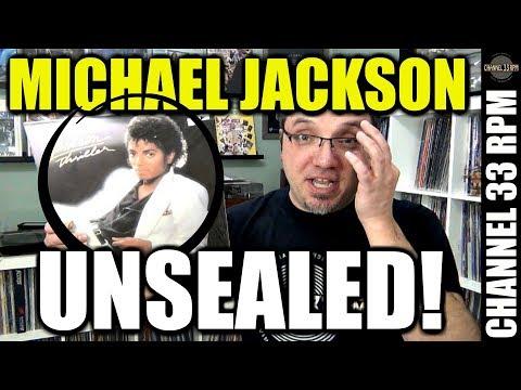 What Happens When You Unseal An ORIGINAL MICHAEL JACKSON THRILLER? Vinyl Community