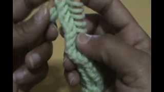 Repeat youtube video ผ้าพันคอนิตติ้งลายก้างปลา By KEA.wmv