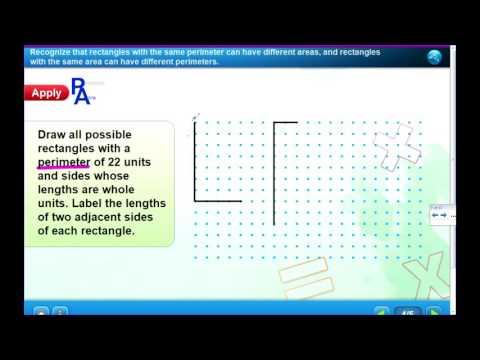 Lesson 6-7 Compare Areas Perimeters