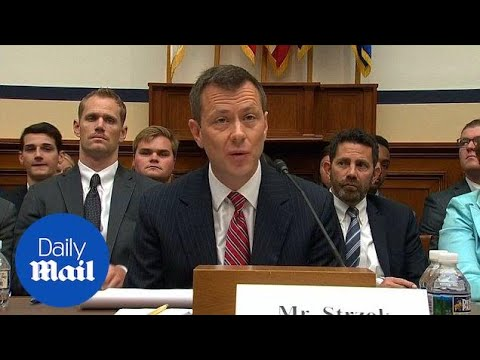 FBI agent Peter Strzok is fired for his anti-Trump texts - Daily Mail