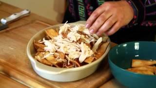 Azteca Foods Chef Gustavo Presents Chicken Chilaquiles