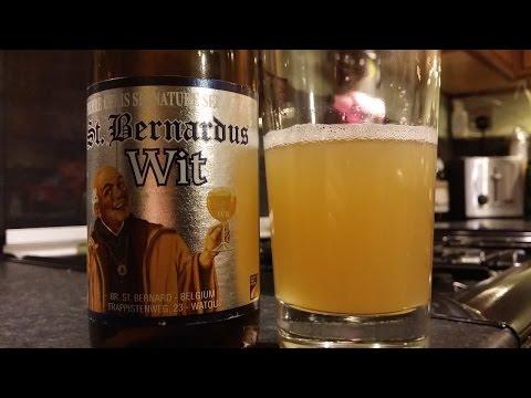 St Bernardus Wit Bier | Belgian Craft Beer Review
