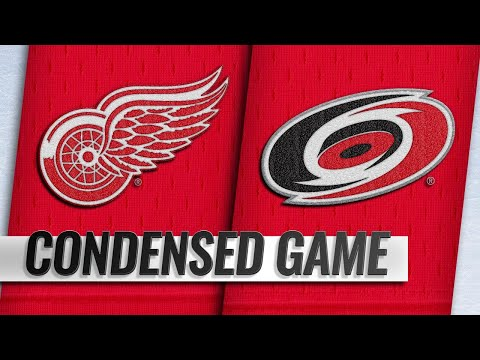 12/20/18 Condensed Game: Red Wings @ Hurricanes