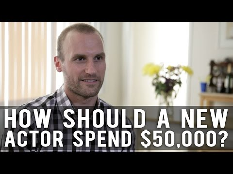 How Should A New Actor Spend $50,000 Upon Moving To LA? by Anthony elli