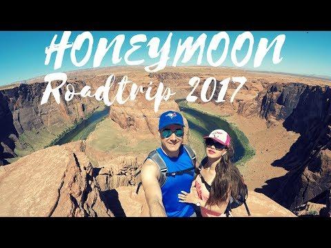 USA West Coast Honeymoon Road Trip 2017