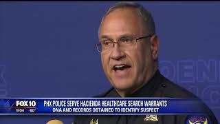 Attorney Benjamin Taylor - Hacienda Healthcare DNA Analysis. Fox 10 Phoenix
