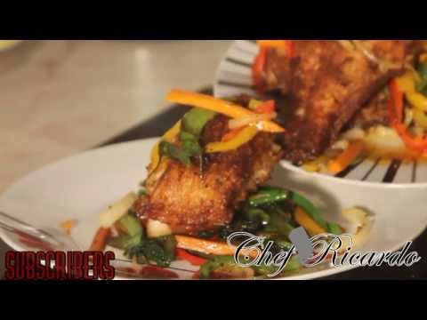 Pan Fry Fish Recipe The Caribbean | Recipes By Chef Ricardo