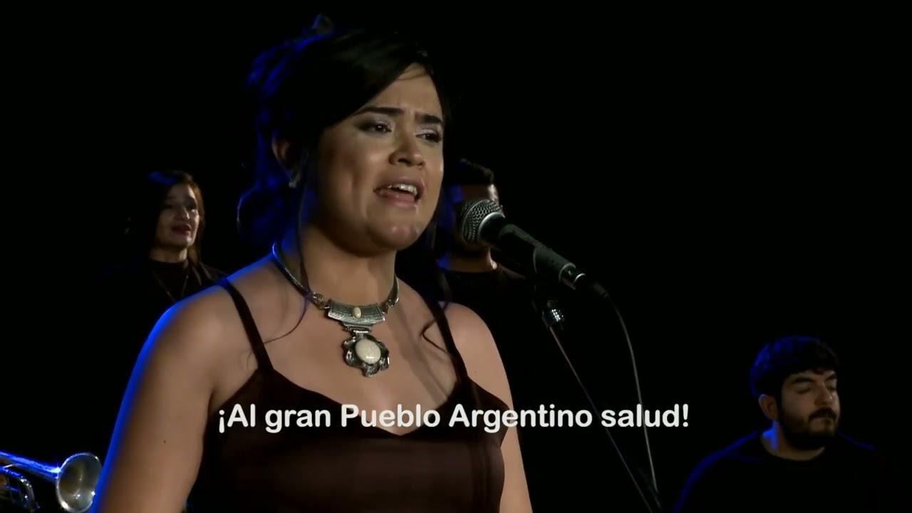 Mirá la versión del Himno Nacional Argentino por artistas riojanos