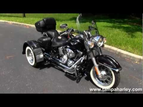 Used 2006 Harley-Davidson FLSTN Softail Deluxe with Insta-Trike for sale.