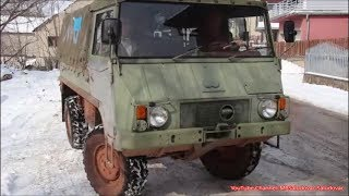 Pinzgauer 4x4 put to the Test - Driving in the Forest