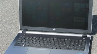 Как разобрать ноутбук HP 15-r272