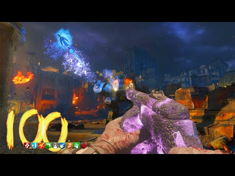 "BLACK OPS 3 ZOMBIES ""GOROD KROVI"" ROUND 100 HIGH ROUND ATTEMPT (BO3 Zombies)"
