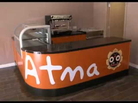 Coffee Shop Counter decorations ideas - YouTube