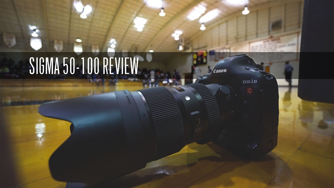 50 100 Sigma 50 100 F1 8 Review A6500 7dii 1dx