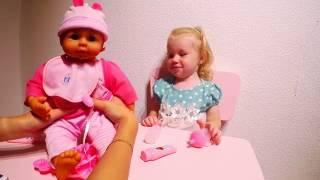 Кукла игрушка Пупс | Baby lovely doll | Обзор новой игрушки с Василисой