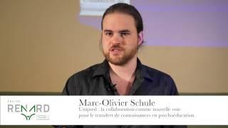 Marc-Olivier Schule - Ma thèse en 180 secondes