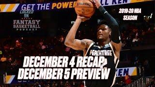 The Cam Reddish Game || NBA Fantasy Basketball Recap