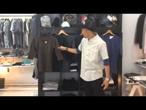 6 SELECT SHOP スタッフによる商品紹介☆5分袖Tシャツ☆