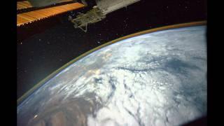 Ron Garan - night pass over Eastern Europe, Black Sea, Iran, India (2011-08-18)