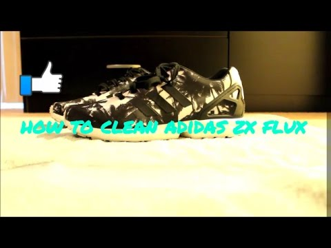 how to clean adidas zx flux