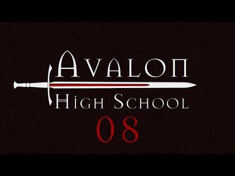 Avalon High School Roll4It #08 GRAIL OF A TIME - Arthurian Legend Monsterhearts