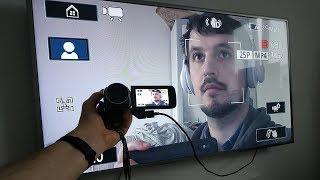 как подключить экшн камеру к телевизору