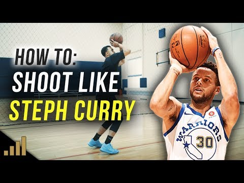 How to: Shoot a Basketball Like Stephen Curry!!! (Easy Shooting Drills for Accuracy and Range)