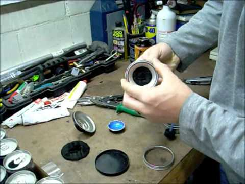 Monster Energy alcohol stove build part 1