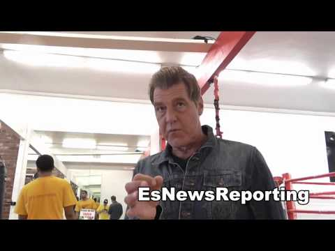 joe goossen manny pacquiao is an all time great EsNews Boxing