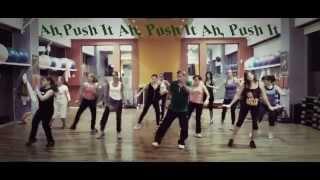push it jamie jones edit salt n pepa aerobic choreography 148 bpm 15 11 2013