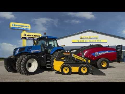 New Holland SMART TV Commercial -- United States