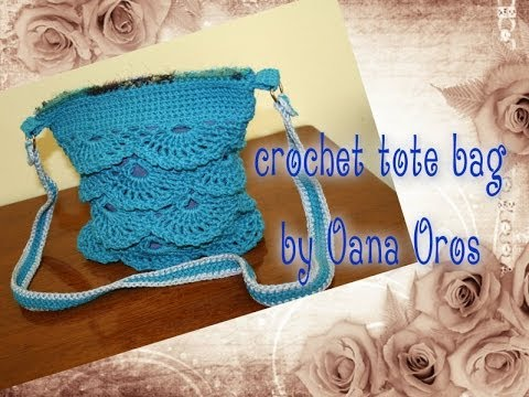 Crochet Bag Youtube : crochet shoulder bag - YouTube