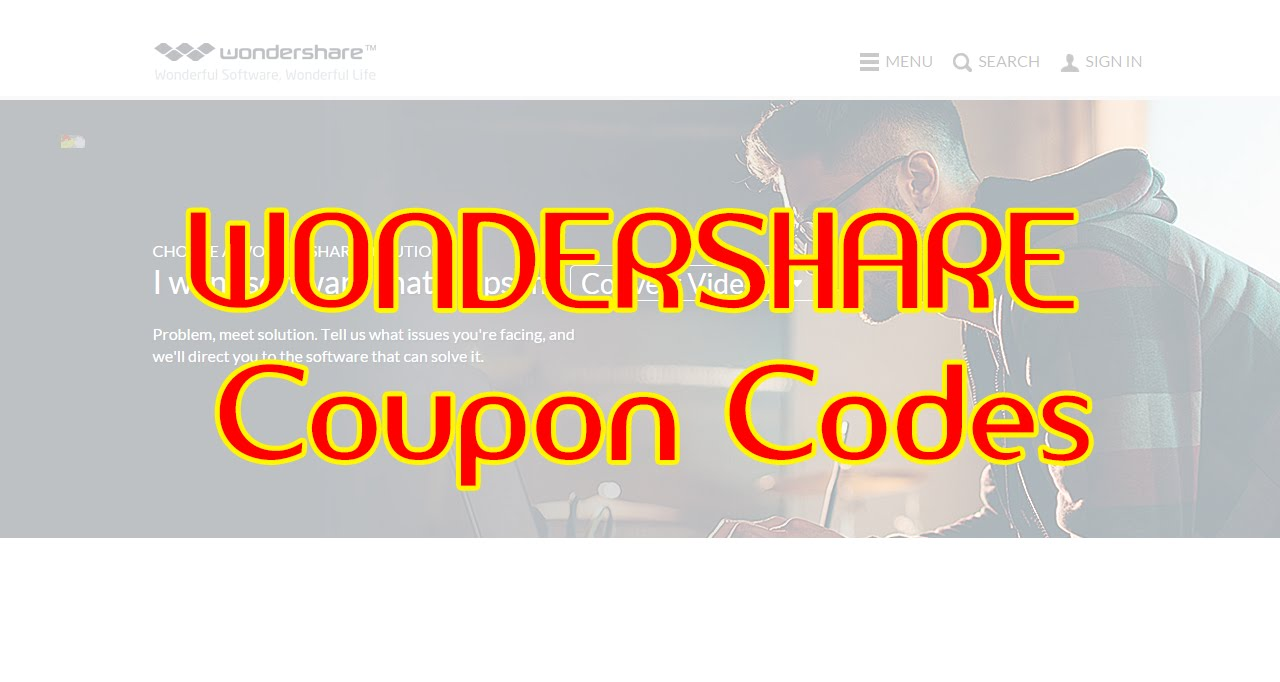 Entering A Coupon Code On Wondershare First off, get the coupon code you want to use from our website. Click on the discount code to copy it and paste it on the Wondershare website when you finally pay for a product.