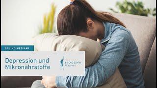 Depression & Mikronährstoffe | Webinar mit Dr. Reinhard Pichler
