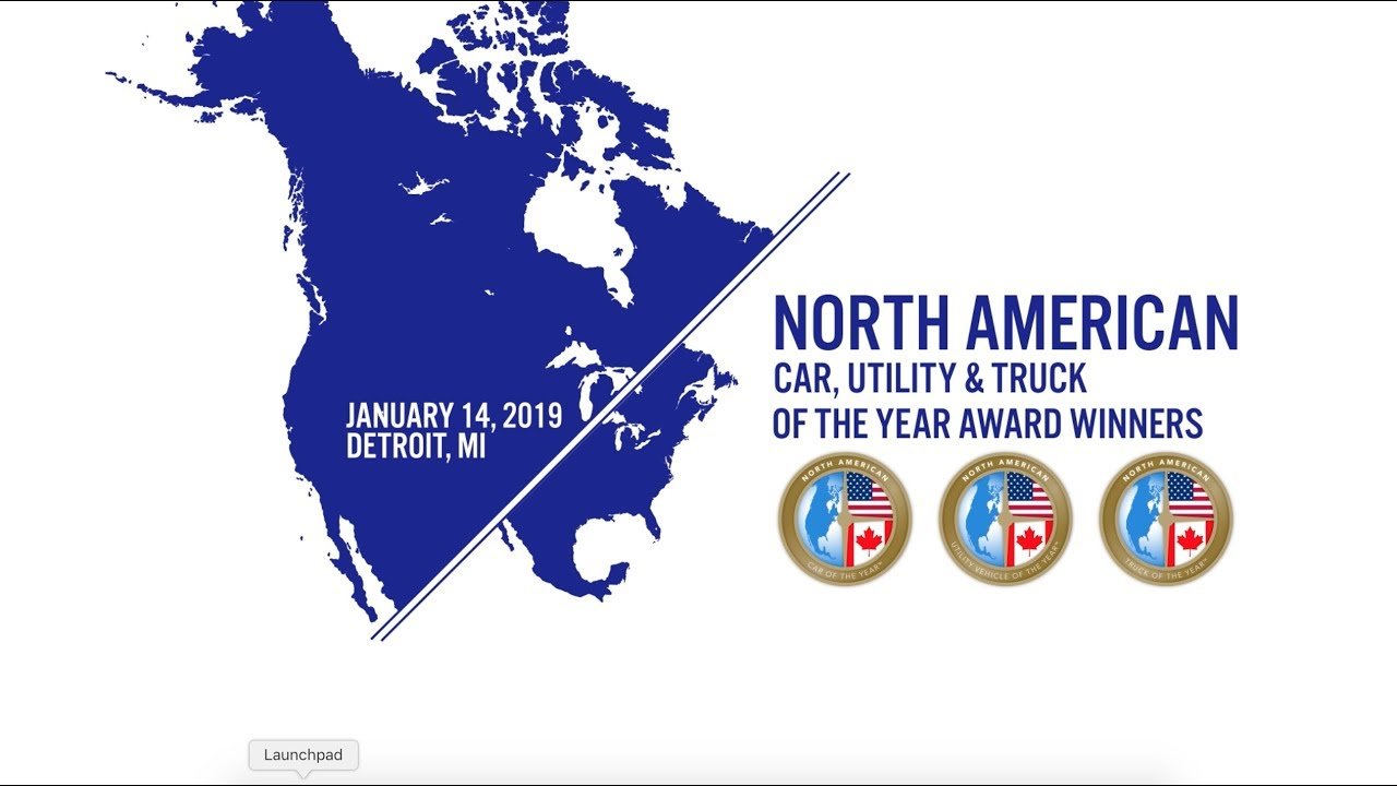 North American Car Utility And Truck Of The Year Awards Nactoy