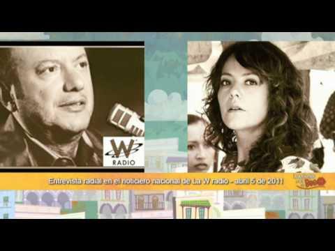 Lecciones para un Beso : Cristina Umaña en entrevista con Julio Sánchez Cristo