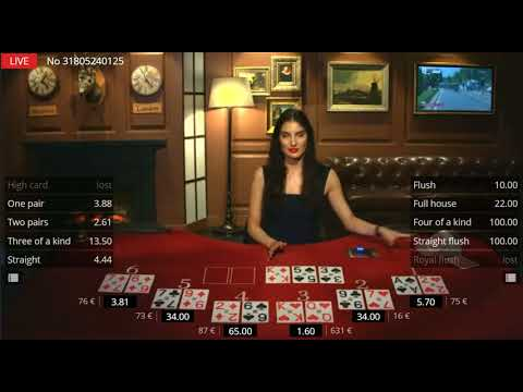 Online Video Poker With Live Dealers (Casino Extra)