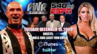 Pro Wrestling Report Radio with Daniels and Lacey von Erich - 12/15/09