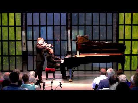R. Strauss: Violin Sonata  | Michael Foyle (violin) | Maksim Stsura (piano)