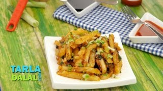 Chilli Potatoes By Tarla Dalal