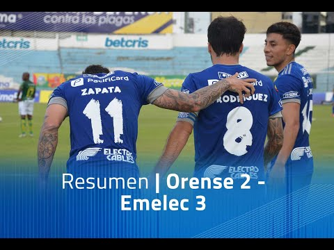 Orense Emelec Goals And Highlights