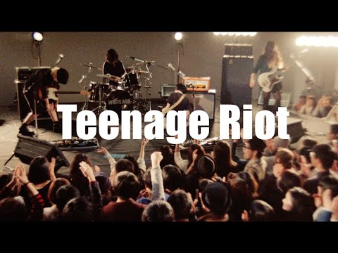 WHITE ASH - Teenage Riot[OFFICIAL MUSIC VIDEO]