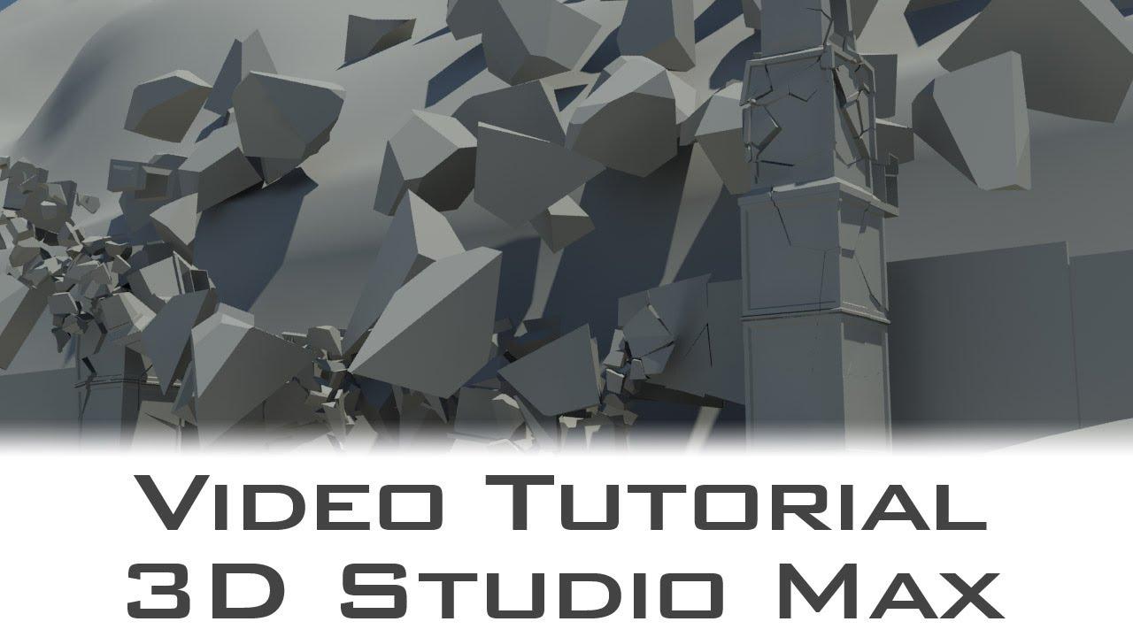 Tutorial autodesk 3d studio max bridge destruction with for Tutorial 3d max