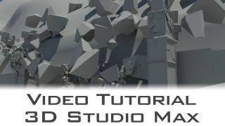 tutorial autodesk 3d studio max bridge destruction with massfx