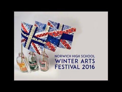 Norwich High School  Winter Arts Festival 2016