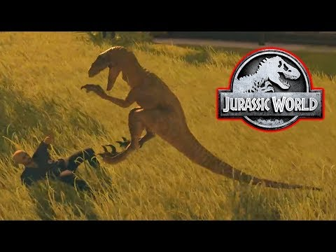 RAPTORS ESCAPE! - Jurassic World Evolution #8